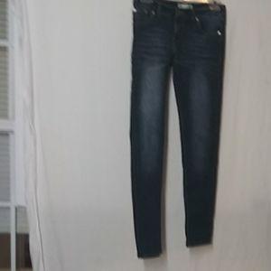 Levi Strauss girls skinny jeans